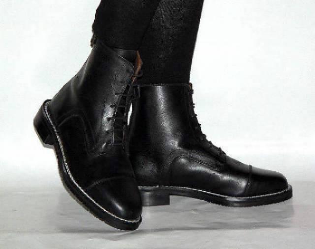 különböző színekben hivatalos üzlet New York Bonis bőr magasszárú fűzős cipzáras cipő bakancs fél csizma ...