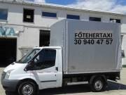 Fő Tehertaxi, szállítás, költöztetés, teherfuvarozás, teherszállítás,áruszállítás, 06309404757.