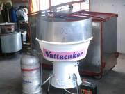 Vattacukor készítő gép fotó