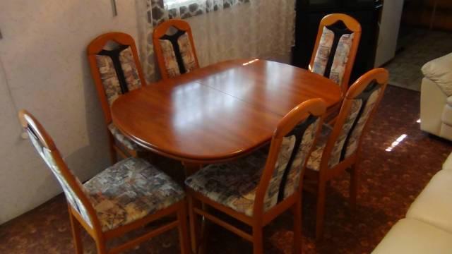Új állapotú 6 személyes étkező garnitúra eladó - Gárdony, Balatoni ...