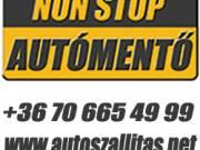 Autómentő belföldi és nemzetközi autómentés és autószállítás