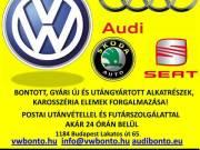 Vw Audi Seat Skoda bontott, új és utángyártott alkatrész szaküzlet