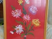 Himzett falikép