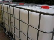 IBC tartályok 1000 l-es méretben élelmiszer ipari