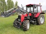 Belarus MTZ 102T5 traktor homlokrakodóval fotó