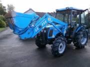 Landini V6544 traktor homlokrakodóval fotó