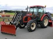 Zetor PR8O-4X41 traktor homlokrakodóval fotó