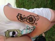 Henna festés