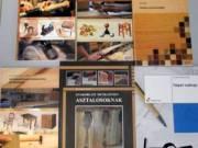 Eladók vadonatúj asztalosipari szakkönyvek.