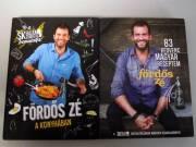 Eladó Fördős Zé 2db szakácskönyve, olvasatlan kifogástalan állapotban!