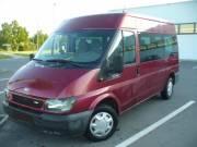 Mikrobusz /9 személyes/ Ford Transit 125LE, klímás, bérelhető, kölcsönözhető Békéscsabán.