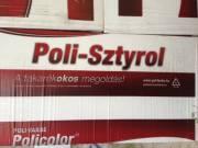 Poli-farbe Homlokzati habosított polisztirol hőszigetelő keményhab lemez eps 80 - hungarocell