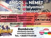 Angol és német tanfolyamok indulnak Dombóváron!!