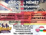 Angol és német tanfolyamok indulnak Kaposváron!!