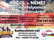 Angol és német tanfolyamok indulnak Székesfehérváron!!