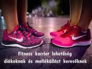 Fitness termi diákmunka/mellékállás