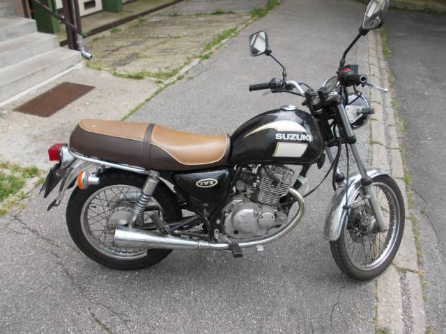 Suzuki TU-X 125 - Středočeský kraj, inzerce, prodám