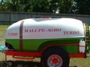 Malupe 1100L AXI Traktor Vontatott Permetezőgép, Vegyszerező, Szivattyú, Növény, Szőlő, Gyümölcs
