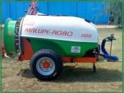 Malupe 1000L Traktor Vontatott Permetező, Vegyszerező, Permetezőgép