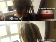 Raszta haj készítés, javítás, hosszabbítás