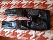 motoros bőr nadrág