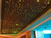 Optikai szálas csillagos égbolt