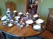 84 részes reichenbachi porcelánszerviz.