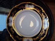 84 részes barokk porcelánkészlet étkészlet