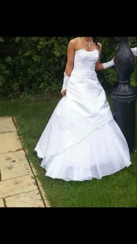 Eladó menyasszonyi ruha - Vecsés - Ruházat 352fbc219a
