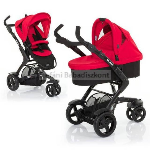 ABC Design 3Tec piros-fekete unisex babakocsi 3212b3198a