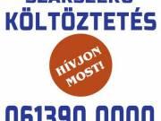 Belföldi költöztetés, tehertaxi rendelés Tel:  061 390 0000