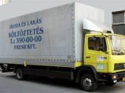 Költöztetés, áruszállítás, áruterítés ! Tel: 061 390 0000