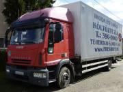 Költöztetés Budapesten modern teherautókkal  http://www.freshkft.hu/koltoztetes