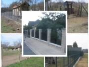 Kerítések építése, felújítása, kőművesmunkák