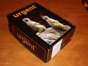 Urgent Munkavédelmi bakancs 42-es méret, újszerű