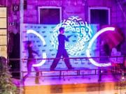 LED és Tűzzsonglőr produkció az ElmoStix csapattól!