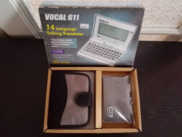 VOCAL 611-es forditógép. - Budapest XI. kerület - Elektronika 546450e97a