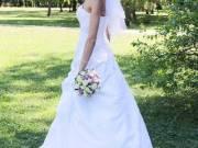 34-es menyasszonyi ruha első tulajdonostól eladó