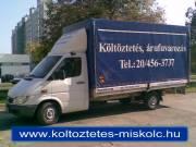 Hadházi Költöztetés Fuvarozás Miskolc