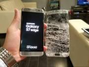 Samsung S7 edge ÜVEG csere törött Plexi ELŐLAP javítás kijelző S8 S6 Edge is Budapest