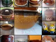 Mázas, sütő, főző kerámiák, díszkerámiák