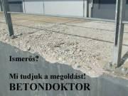 Kül és beltéri betonok, műkövek javítása, felújítása, felületvédelme