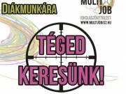 Kasszás diákmunka Kiskunmajsa TESCO, SPAR, LIDL
