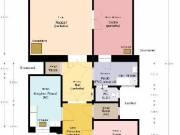 Polgári lakás Bp. Belvárosában eladó