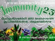 Immunity23 gyógytea, gyulladásokra, daganatokra!
