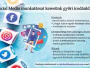 Social media munkatársat keresünk!