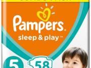 Pampers pelenka - Sleep&Play 5 junior 58db-os