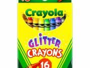 Crayola: Csillámos viaszkréta - 16 darabos