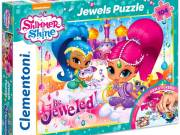 Clementoni: Shimmer és Shine ékköves 104 darabos puzzle