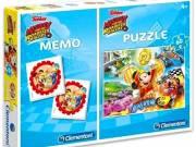 Clementoni: Mikiegér Roadster Racers 60 darabos puzzle és memóriajáték